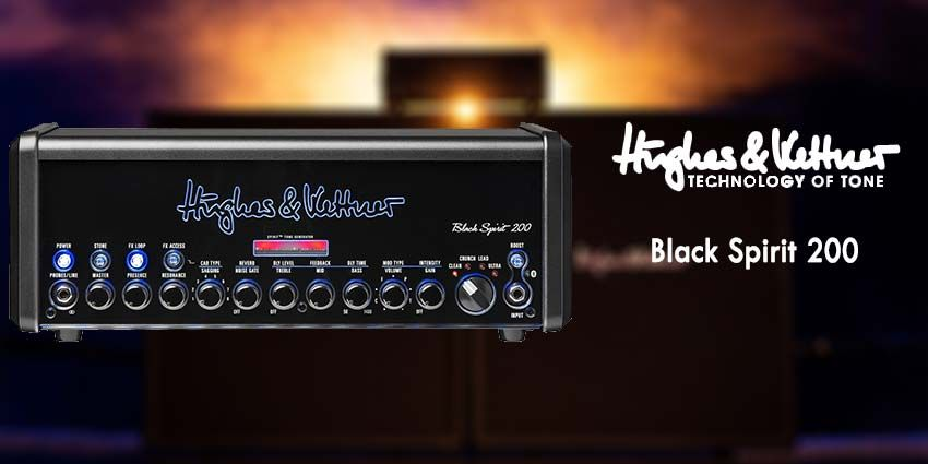 Le Black Spirit 200 de Hugues & Kettner