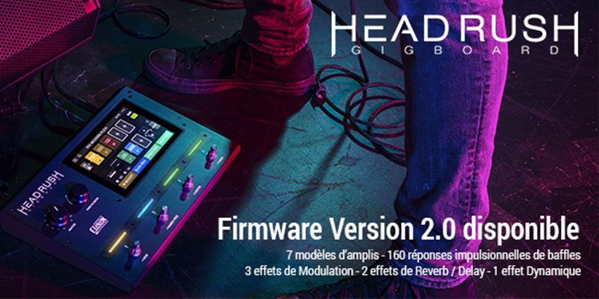 Gigboard 2.0 de HeadRush