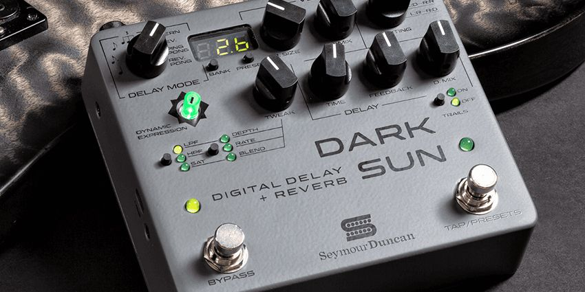 Mark Holcomb (Periphery) et Seymour Duncan annoncent la Dark Sun
