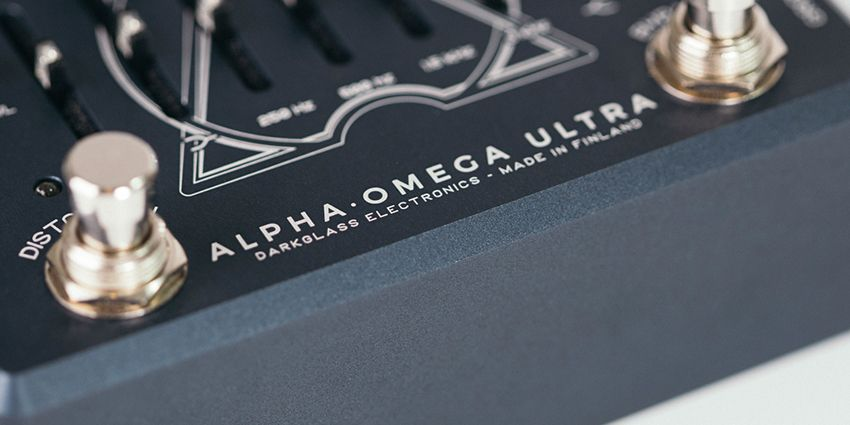 Alpha Omega Ultra chez Darkglass