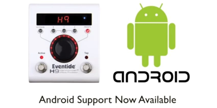 H9 Control Apps disponible sur Android