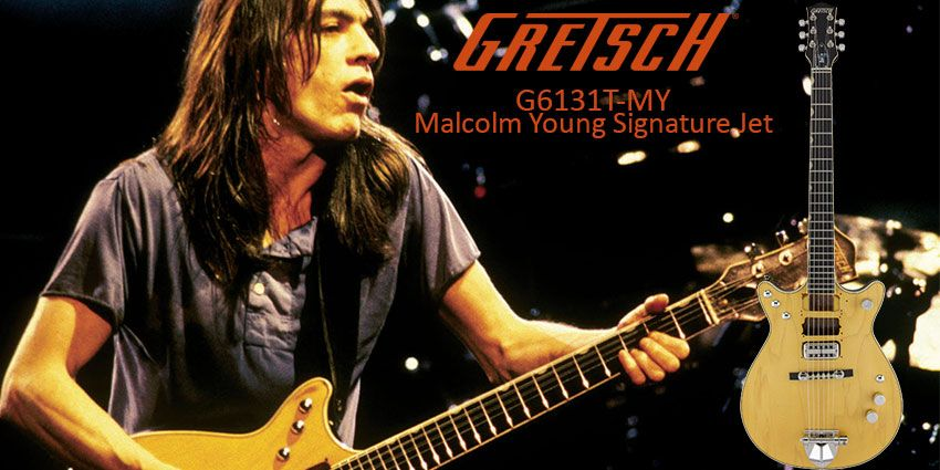 La Gretsch Malcolm Young Signature Jet plus accessible