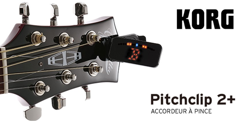 Korg sort le Pitch Clip 2+